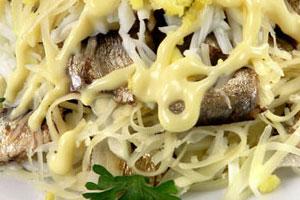 Салат со шпротами (2)