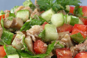 Салат из макрели