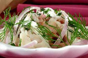 Салат из палтуса (2)
