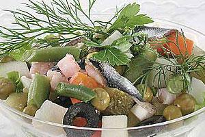 Салат «Морской букет»