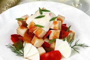 Салат рыбный (2)