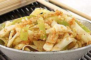 Кимзи из белокачанной капусты