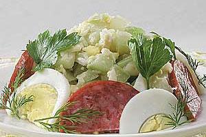 Салат из кабачков «Янош»
