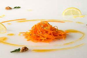 Салат из тыквы с орехами