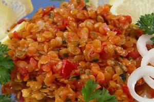Салат чечевичный