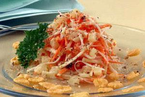 Салат с морковью и сельдереем