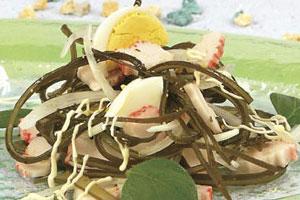 Салат из морской капусты по-китайски