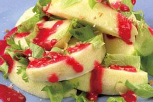 Салат «Угощение для белочки»