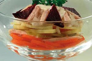 Салат-коктейль «Рижский»