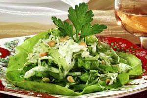 Салат из капусты «Свежесть»