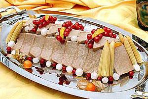 Банкетное блюдо «Рандеву»