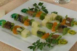 Шашлычки из копченой рыбы (2)