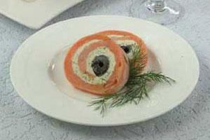 Рулетики из лосося (2)