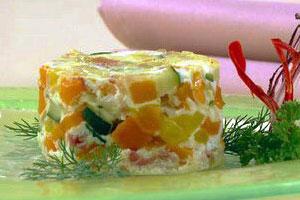 Овощная яичница по-итальянски