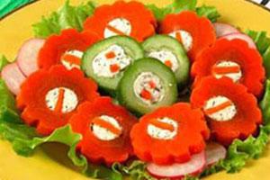 Овощные «Пуговицы»