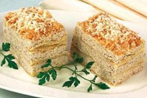Торт с грибным кремом