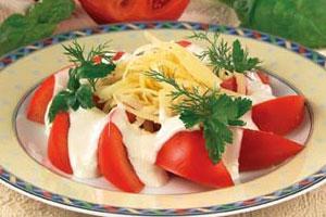 Закуска «Хризантемы»