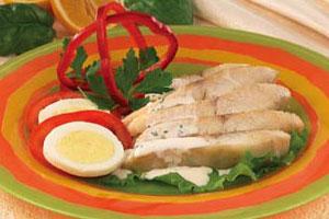 Летнее блюдо из рыбы