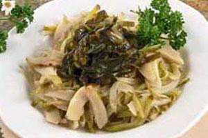 Закуска из морской капусты