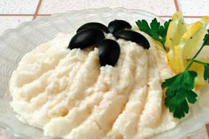 Сыр из соленой рыбы
